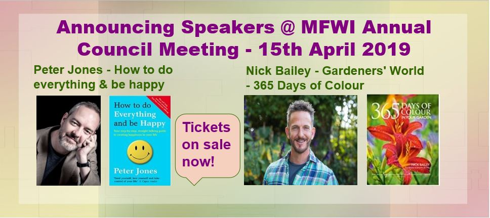 AGM April 2019 Speaker Slider