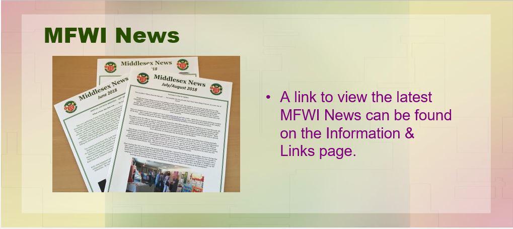 MFWI News 2018
