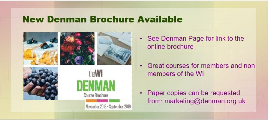 New Denman Brochure Oct 2018
