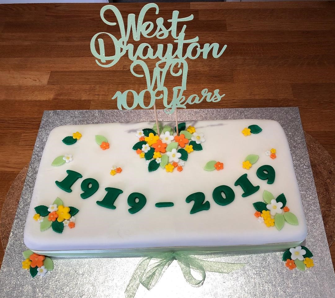 West Drayton Centenary Cake 2019